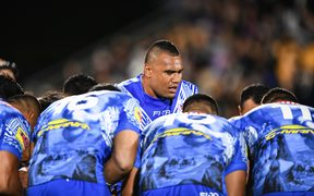 Toa Samoa are still searching for a first win at the World Cup.