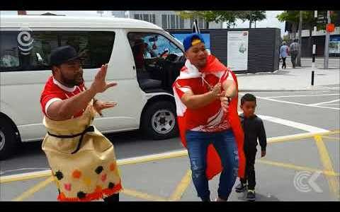 Christchurch turns red for Tonga: RNZ Checkpoint