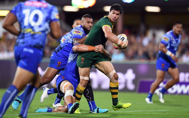 Toa Samoa finished winless at the World Cup after defeat by Australia.