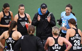 NZ coach Mark Hager.