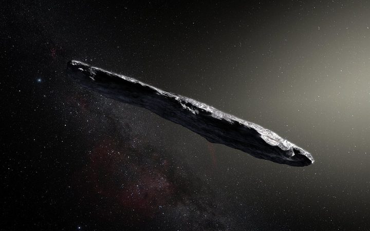 First interstellar visitor described as an 'oddball'