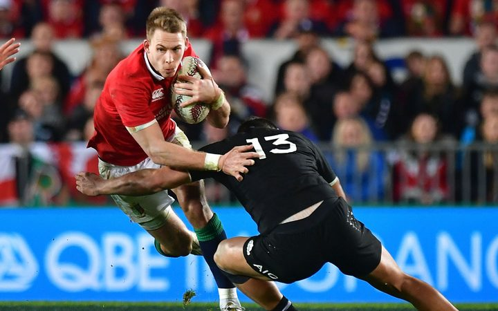Wales and Lions outside back Liam Williams.