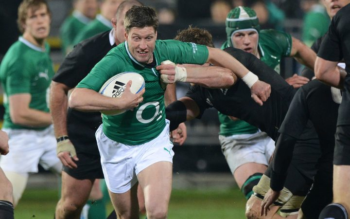 Ronan O'Gara played 128 games for Ireland