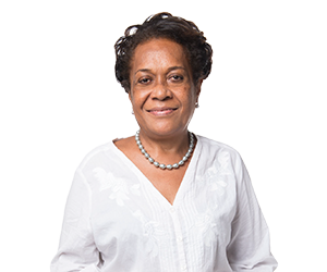 The head of the Fiji Women's Rights Movement