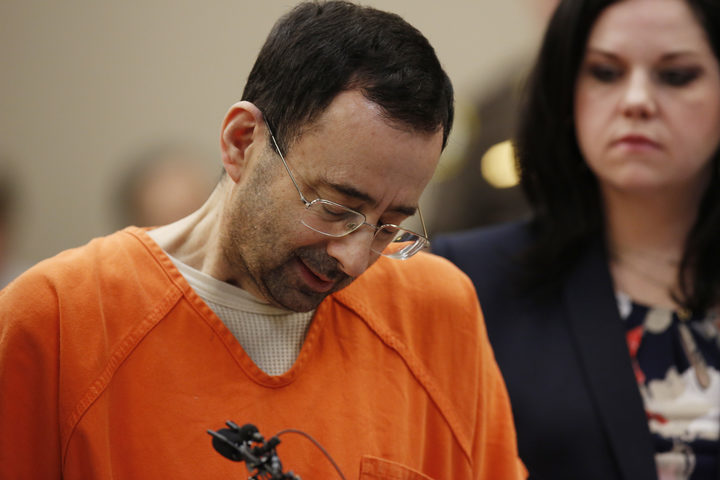 Former Michigan State University and USA Gymnastics doctor Larry Nassar.
