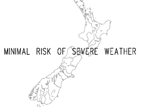 The MetService forecast for the weekend.