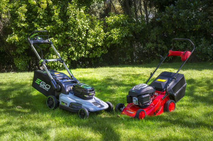 2 top end mowers