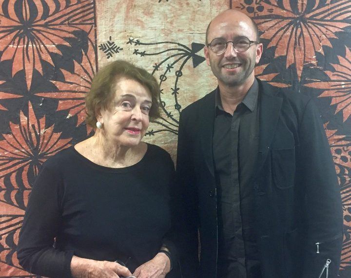 Dame Jenny Gibbs and Alastair Carruthers