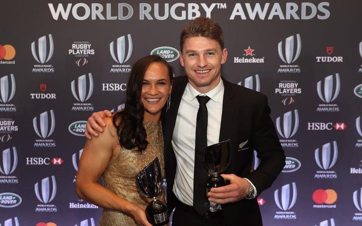 New Zealand dominates World Rugby Awards