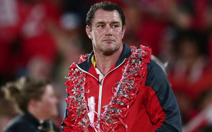 Mate Ma'a Tonga Head Coach Kristian Woolf.