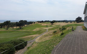 Fitzroy golf course on the coast in New Plymouth.