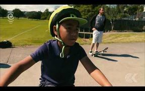 BMX kid cruises ahead of competition after riding for just months