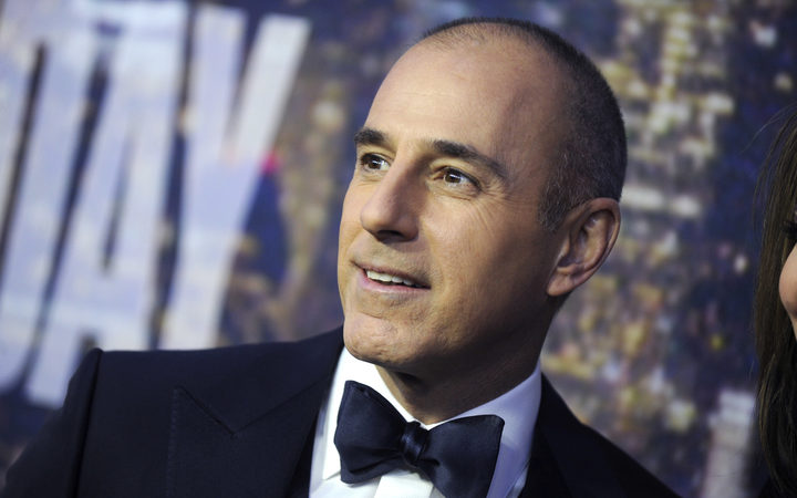 Matt Lauer fired by NBC, accused of