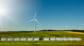 Tesla's plant stores energy from the Hornsdale wind farm in South Australia.