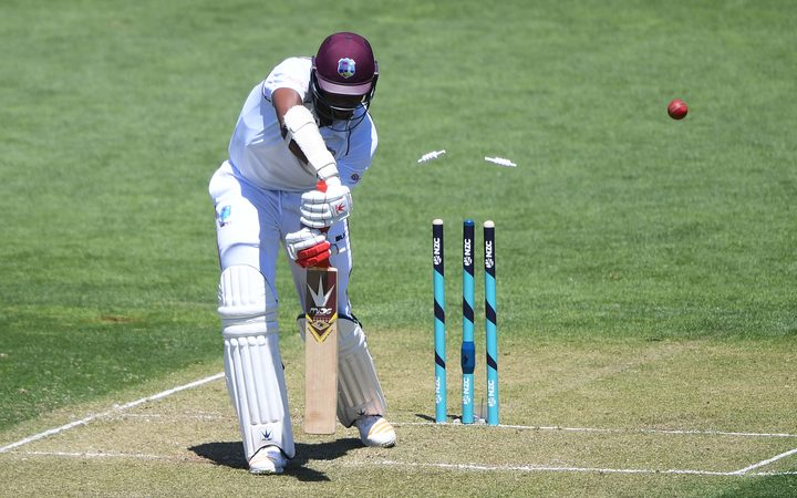 West Indies fight back after Kiwi debutant scores ton