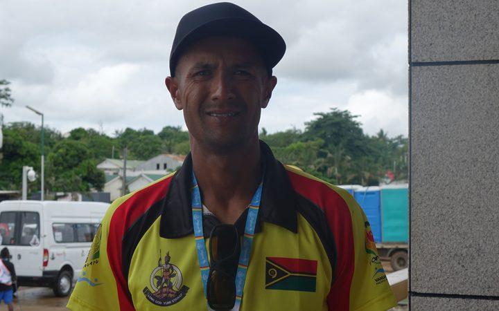Sport: Home finale for Vanuatu tennis star