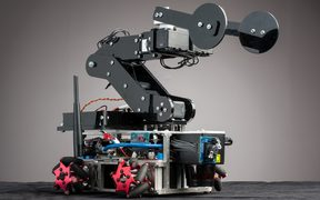 Robot designed by researchers from Victoria University of Wellington.