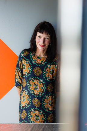 A portrait of Shortland Street producer Maxine Fleming.