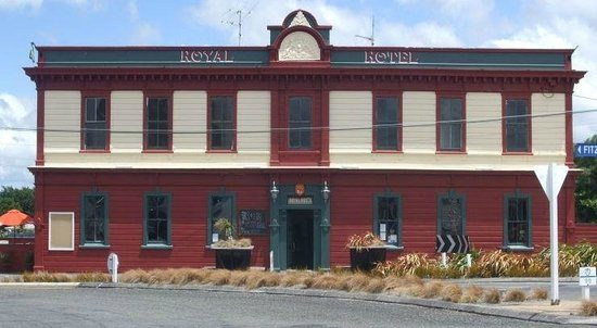 The Royal Hotel in Featherston