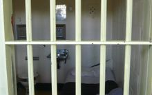 A New Zealand prison cell.