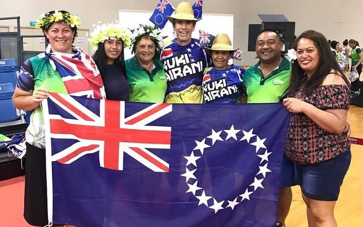 The Cook Island fans have had plenty to cheer about