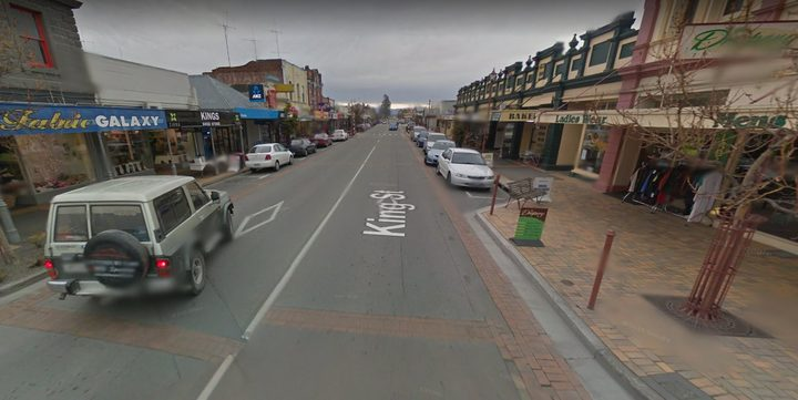 The main street of Temuka.