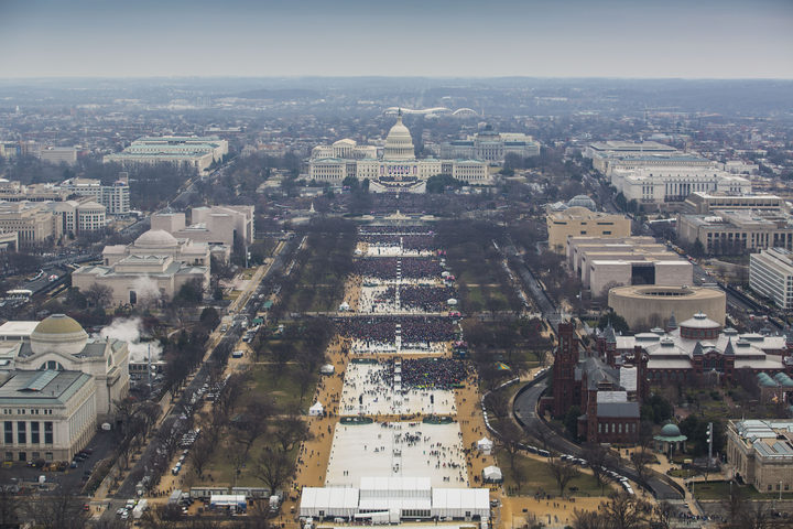 The crowd at Donald Trump's inauguration sparked his administration's first confrontation with the media