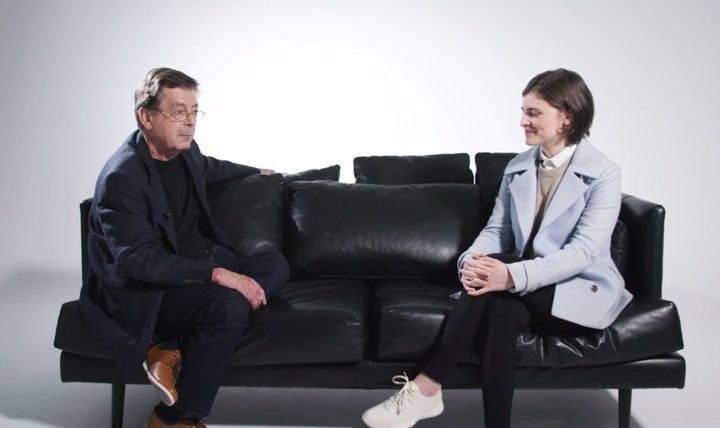 Climate sceptic Leighton Smith discusses the issue with Green candidate Chloe Swarbrick in an series called 'Convince Leighton'