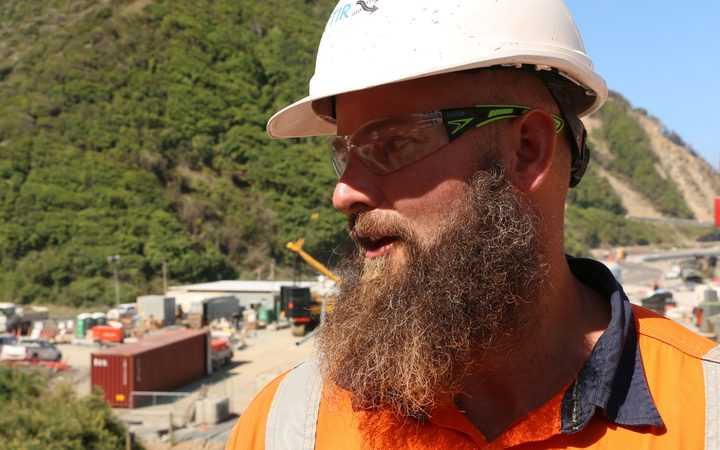One of the Ohau Point site managers, Clark Butcher.