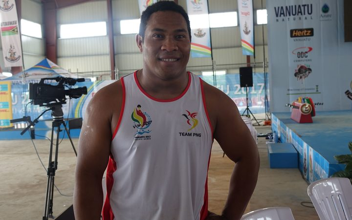 Steven Kari had a golden run in the 94kg category