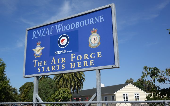 The RNZAF Woodbourne Airbase near Blenheim.