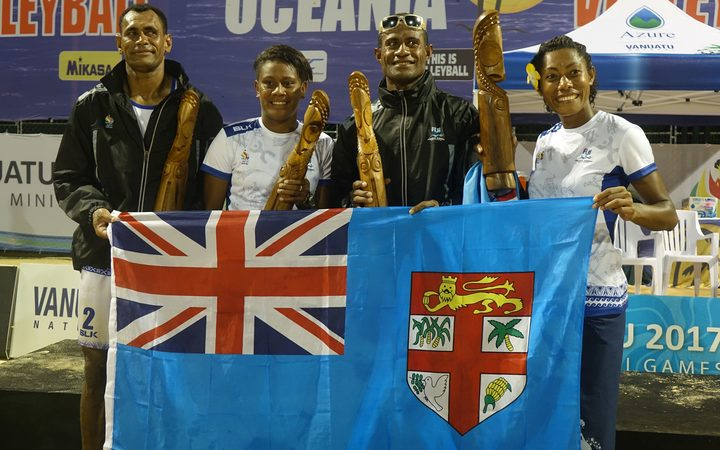 Fiji's beach volleyball teams will compete at the Commonwealth Games