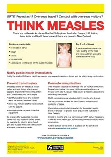 Public health officials are trying to stop the spread of measles