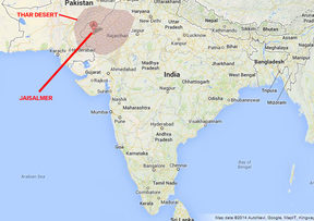 Thar Desert Map Is the traditional music of India's Thar Desert under threat?   RNZ Thar Desert Map