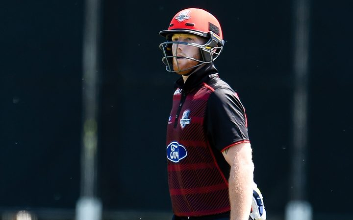 Ben Stokes playing for Canterbury.