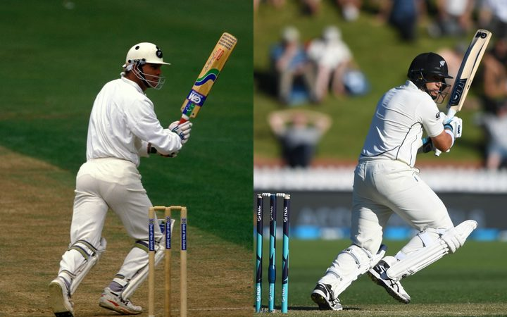 Martin Crowe and Ross Taylor