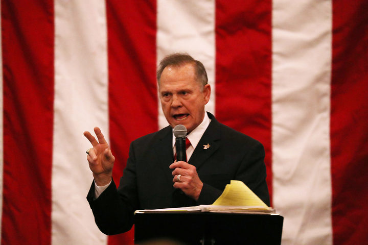 Roy Moore Asks Alabama Court to Block Election's Certification