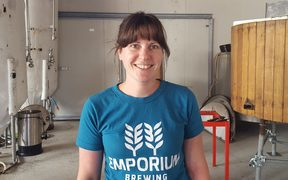 Emporium Brewery co-owner Laura Finney.