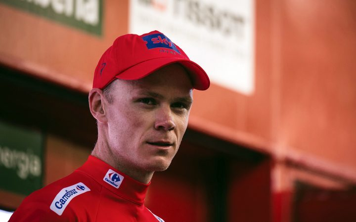 Froome storms into lead of the Giro d'Italia