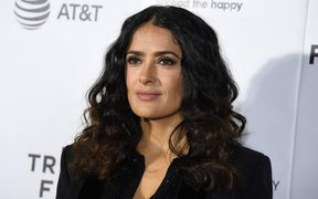 Actress Salma Hayek.