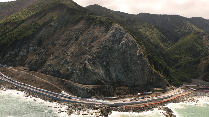 Kaikōura mayor: 'The road is looking pretty good' | RNZ News
