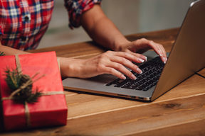 Christmas shoppers are increasingly avoiding the last-minute dash to the store by going online.