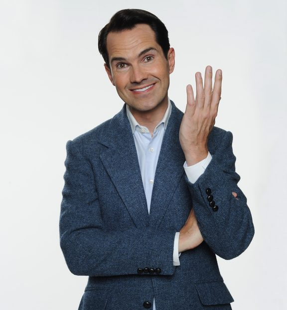 British comedian Jimmy Carr is in NZ for shows in January 2018.