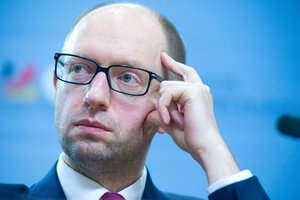 "Arseniy Yatsenyuk: ""This is the government of political suiciders! So welcome to hell."""