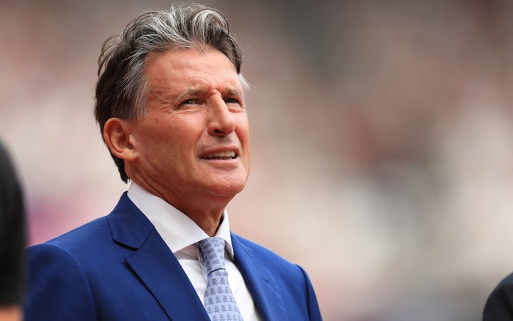 IAAF chief Lord Sebastian Coe.
