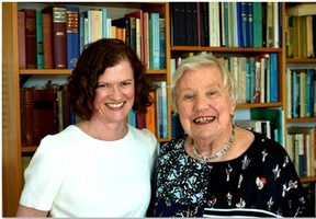 Authors Janet McLean and Dame Alison Quentin-Baxter