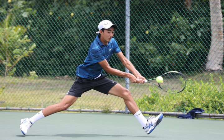 Guam tennis player Mason Caldwell.