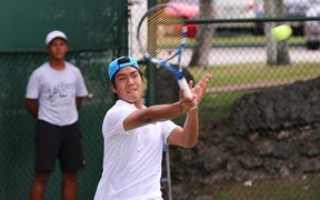 Daniel Llarenas has previous Davis Cup experience with Pacific Oceania.