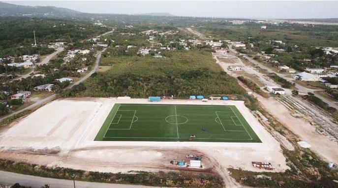 Sport:CNMI football training centre gets funding boost