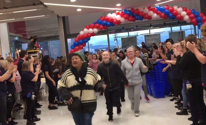 The opening of Kmart's 20th store - just 18km from its first - was heavily covered in the national news media.